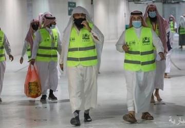 الرئاسة العامة لشؤون الحرمين تنظم دورات تدريبية لـ 113 متطوعاً في المسجد الحرام