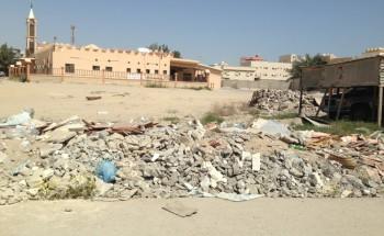 مخلفات حي الياسمين بالخفجي تزعج الأهالي والبلدية تعدهم بالإزالة فوراً