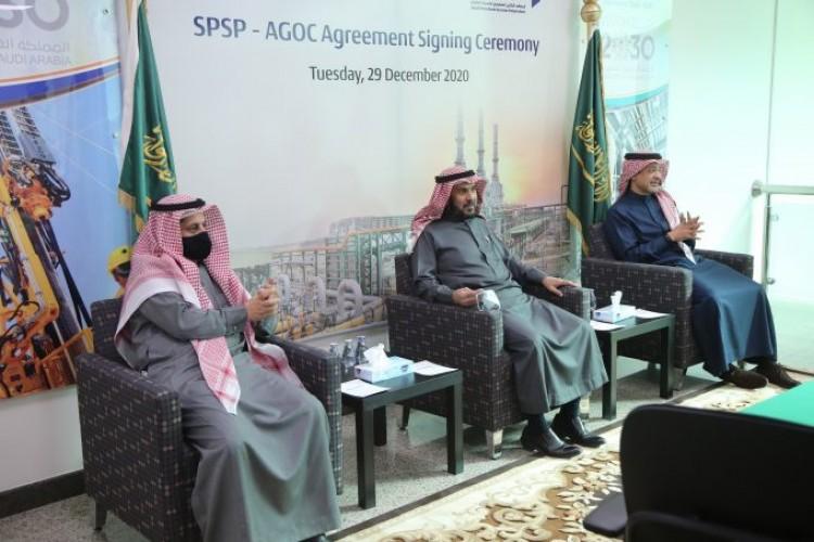 معهد البترول بالخفجي يحتفل بالدعم السنوي لشركة أرامكو الخليج وشيفرون العربية