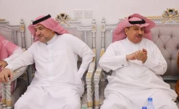 الحربي يحتفي بمدير مرور الخفجي ومساعده