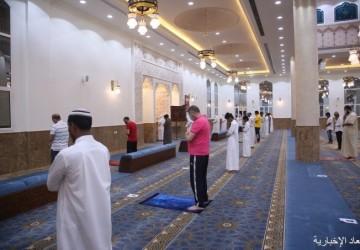 بالصور والفيديو.. مساجد الخفجي تستقبل المصليين بالإجراءات الإحترازية