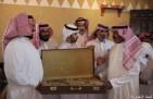 تكريم الزعبي نظير تنازله عن الحق الخاص في وفاة أخيه سالم