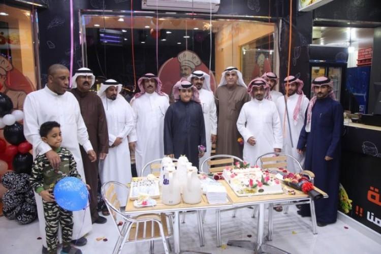 بالصور.. افتتاح مطعم نكهة للوجبات السريعة في الخفجي