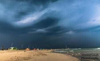 شاطئ الخفجي ، عدسة – أحمد غالي