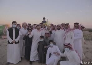 """""""بحمد الله"""" يفوز بكأس الحفل الثاني بميدان فروسية الخفجي"""