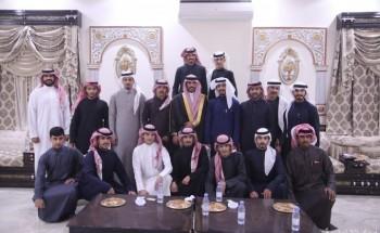 دبيان مفرج يحتفل بزواج أبنه «محمد»