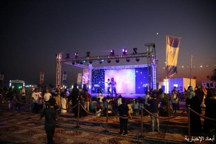 «عمليات الخفجي المشتركة» تحتفل بافتتاح مخيمها الربيعي بحضور الهزاع والقحطاني