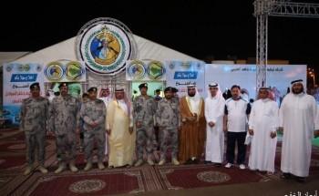 محافظ الخفجي يفتتح «أسبوع حرس الحدود وخفر السواحل الخليجي» الخامس
