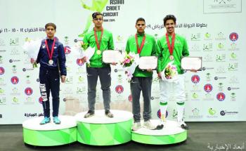 «أخضر المبارزة» يستهل الآسيوية بأربع ميداليات