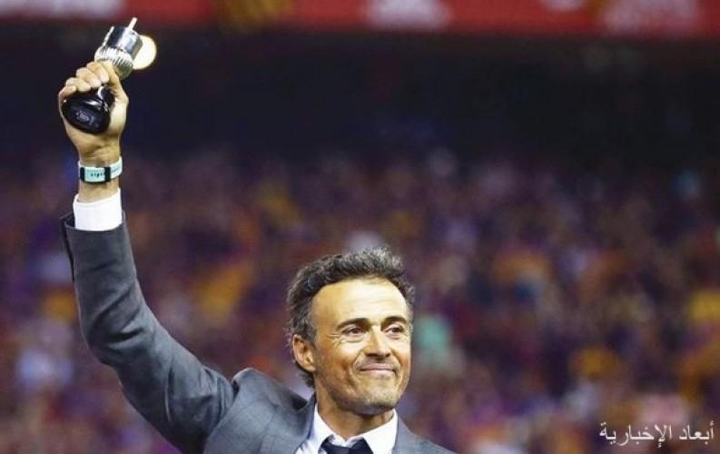 إنريكي: كرة القدم حزينة في ملاعب من دون جمهور