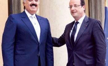 وزير الحرس يشيد بمتانة العلاقات بين الرياض وباريس