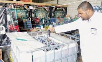 قبل رمضان .. مصادرة وإتلاف 83 ألف عبوة مشروب غازي بالدمام