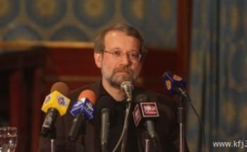 احتجاج يجبر رئيس البرلمان الإيرانى على قطع خطابه