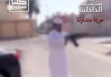 شرطة الخفجي تقبض على شخص قام بإطلاق النار في الهواء من سلاح رشاش
