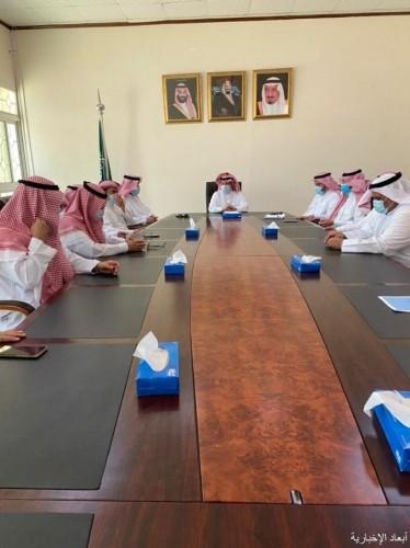 المجلس المحلي بالخفجي يعقد جلسته الثالثة لعام ١٤٤٢