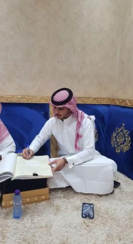 الزميل «عبدالعزيز العنزي» يعقد قرانه