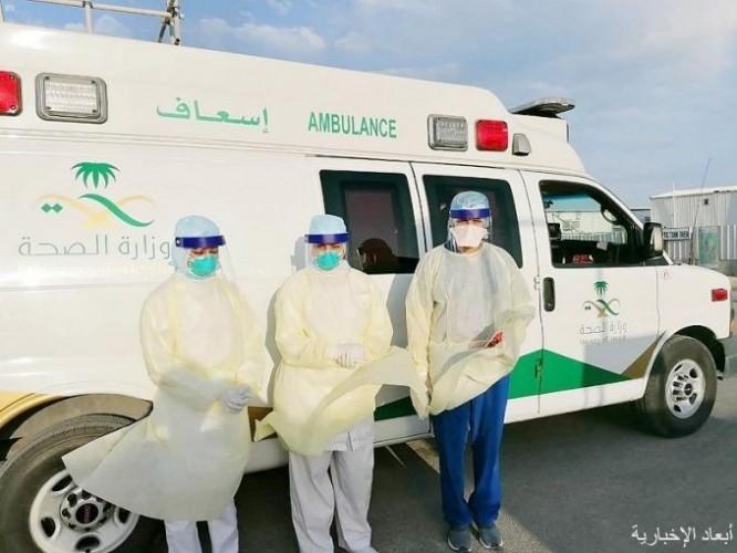 مستشفى الخفجي يواصل تنفيذ الإجراءات الإحترازية والوقائية ضد فيروس كورونا