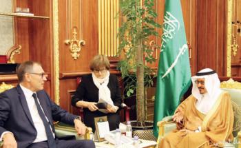 نائب رئيس الشورى يستقبل وفد مجلس الشيوخ الفرنسي