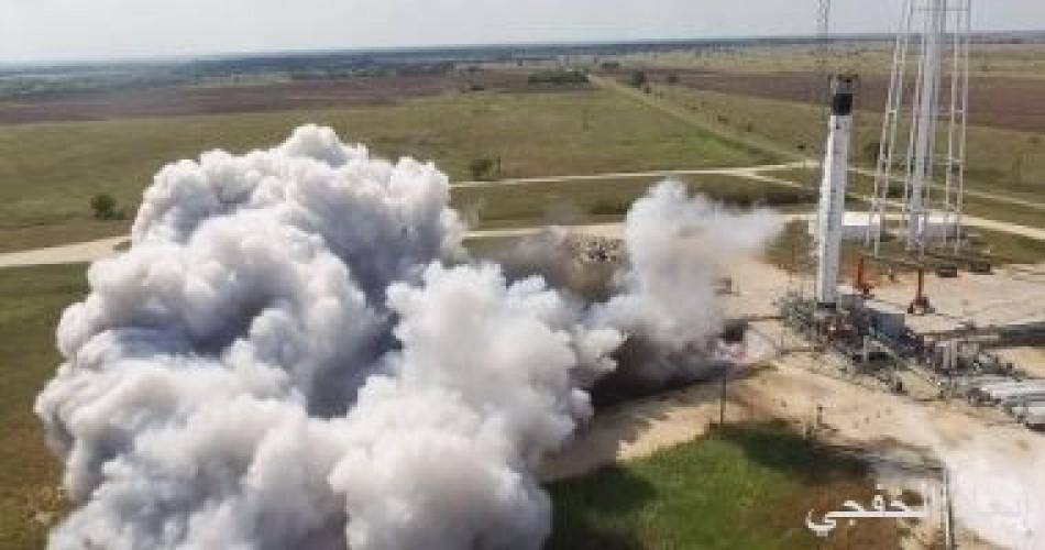 SpaceX تختبر إطلاق تجريبى لأول صاروخ يحمل رائد فضاء