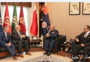 رئيس الأمن العام البحرينى يستقبل وفدًا من المنظمة الدولية لمكافحة العنف