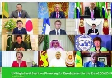الرئاسة السعودية للعشرين تشارك الأمم المتحدة في حلول تمويل التنمية لما بعد «كورونا»