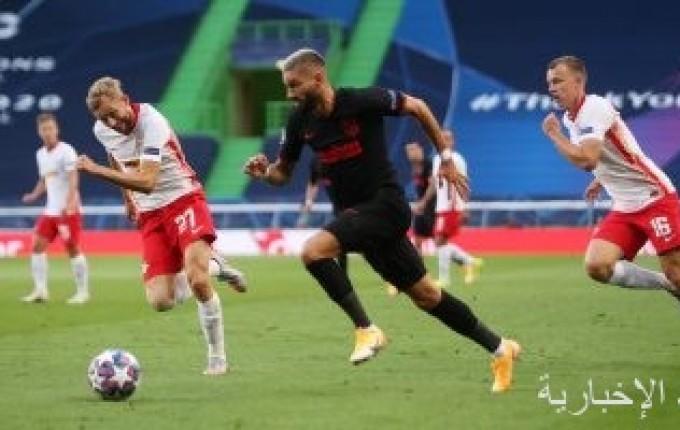 فيفا: لايبزيج أول فريق ألماني يخرج أتلتيكو مدريد من بطولة دورى أبطال أوروبا