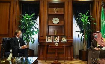 وزير الدولة للشؤون الخارجية يستقبل سفير فرنسا المعين لدى المملكة