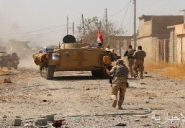 إصابة 8 أفراد من قوات الأمن والمتظاهرين خلال اشتباكات بذى قار العراقية