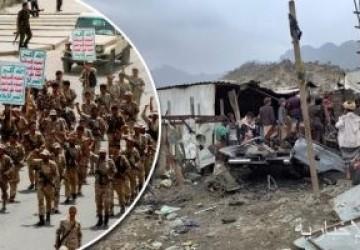 مركز حقوقى يمنى يوثق 8 مجازر حوثية فى محافظة تعز خلال 2020