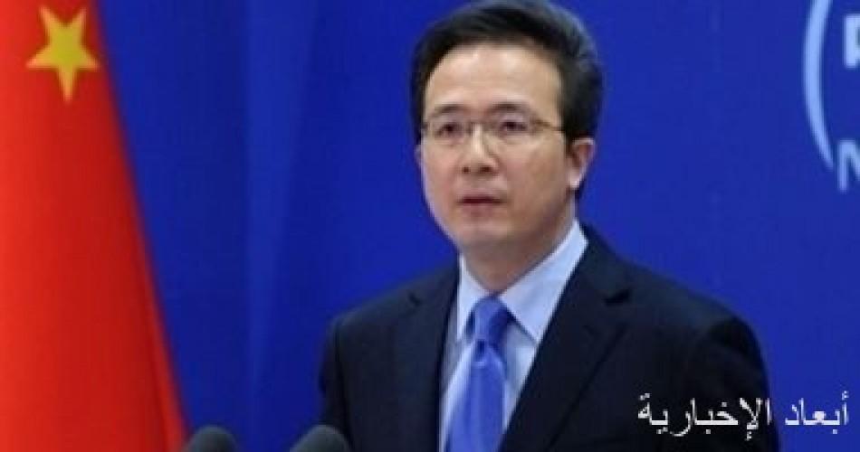 الصين تدعو إلى تعزيز جهود التسوية السياسية للأزمة السورية