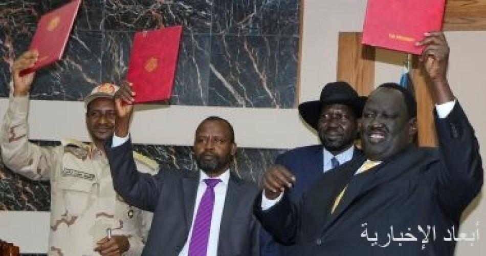 توقيع اتفاق إطاري بين حكومة السودان والحركة الشعبية