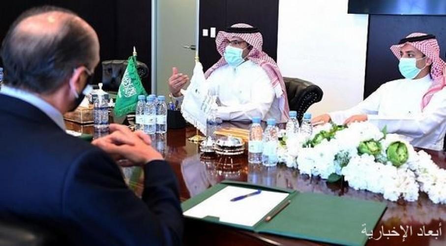 السفير آل جابر يلتقى بالمبعوث الأمريكي إلى اليمن