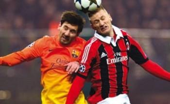 """برشلونة يخوض مواجهة """"انتحارية"""" أمام ميلان"""