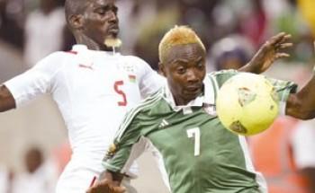 آخر تحديث: الأحد 10 فبراير 2013, 2:45 ص  الرياضة  نيجيريا تصطدم بمغامرات بوركينا فاسو