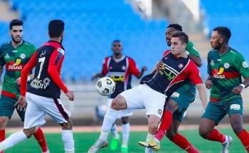 الاتفاق يتغلب على مستضيفه الرائد في دوري كأس الأمير محمد بن سلمان للمحترفين