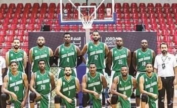 أخضر السلة يسعى إلى تأكيد تأهله أمام إيران