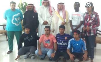 فريق تابع لرعاية الشباب بالشرقيه يزور الخفجي ضمن رحلته السياحية