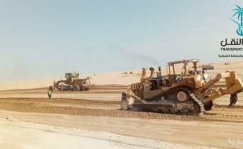نقل الشرقية استمرار العمل لتطوير وتوسعة طريق «الخفجي – أبوحدرية»