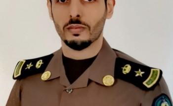 """ترقية الرائد عبدالرحمن عوض الشهري إلى رتبة """" مقدم """""""