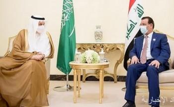 الفضلي يستقبل وزير الزراعة العراقي