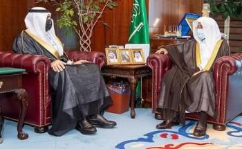 وزير الشؤون الإسلامية يستقبل سفير المملكة المعين لدى بوركينا فاسو