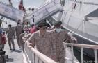 قائد القوات البحرية يرعى حفل استلام الدفعة الثانية من الزوارق السريعة في رأس مشعاب