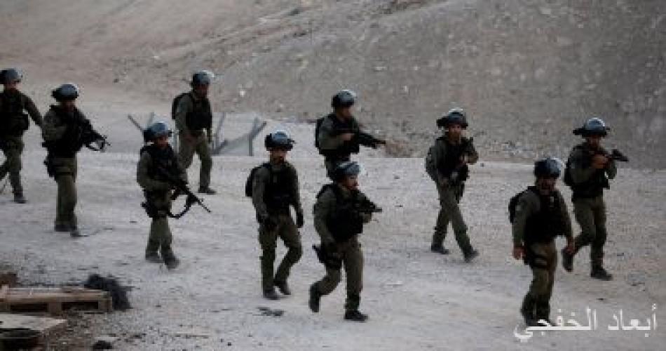 قوات الاحتلال تطلق النار على شاب فلسطينى بزعم محاولته دهس أحد الجنود
