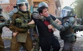 """دعوة إضراب تجدد الفوضى فى تشيلى والنقابات تتمسك بـ""""حد أدنى"""" للرواتب"""