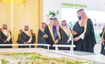 مسيرة أعمال مشروع  «الرياض الخضراء».. تغلب الظروف