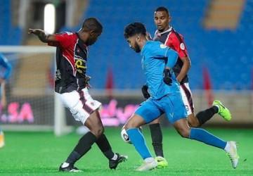 النصر يتغلب على مستضيفه الرائد في دوري كأس الأمير محمد بن سلمان للمحترفين