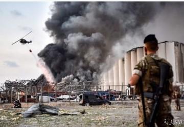 """الأمن العام اللبناني: الانفجار ناجماً عن مواد """"مصادرة وشديدة الانفجار"""""""