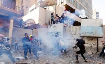 مقتل 5 متظاهرين فى احتجاجات جنوب العراق وتصاعد حدة العصيان المدنى