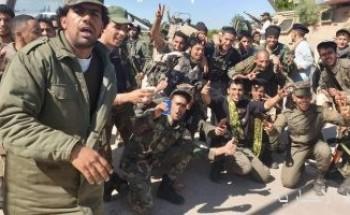 سقوط طائرة حربية تابعة للجيش الوطنى الليبى