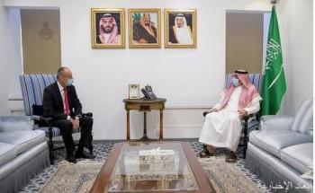 وكيل وزارة الخارجية لشؤون المراسم يستقبل سفير سويسرا لدى المملكة